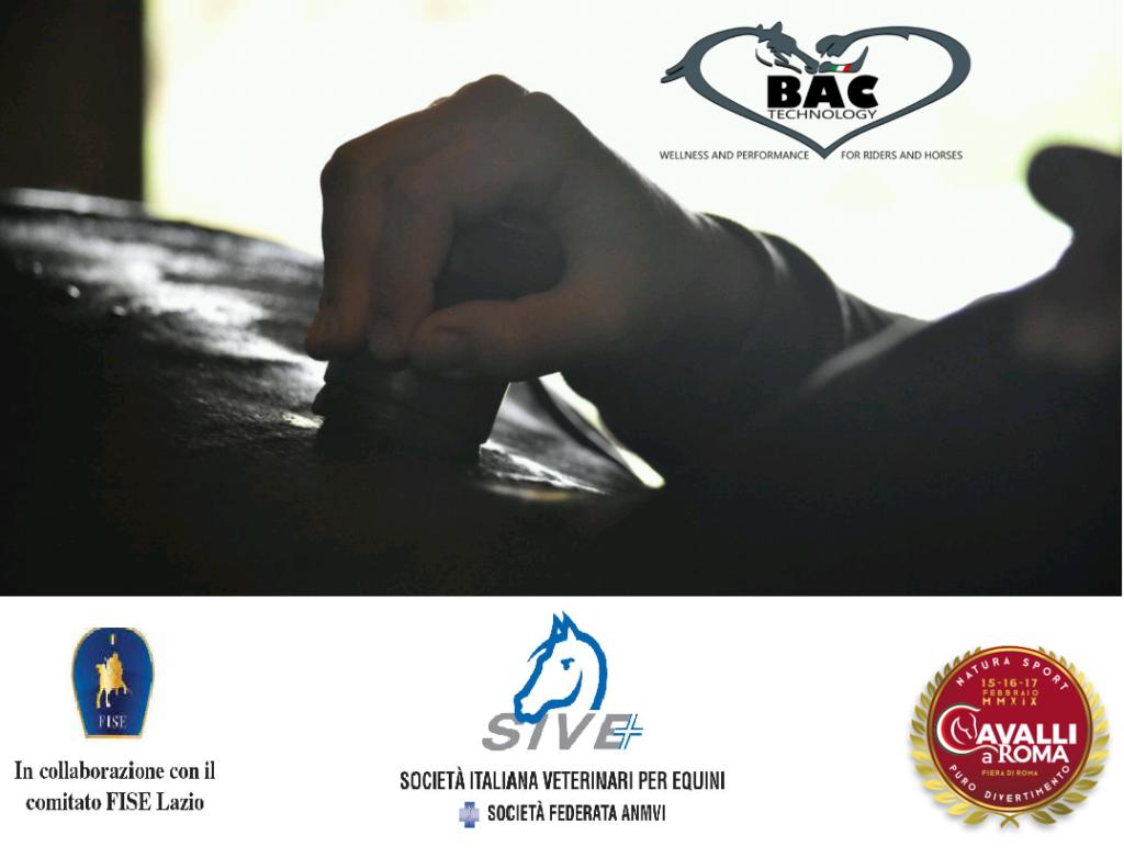 """Bac Technology partner del seminario SIVE in """"Cavalli a Roma 2019"""" 15 febbraio 2"""