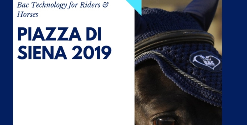 Piazza di Siena 2019, Bac Technology c'è! 1