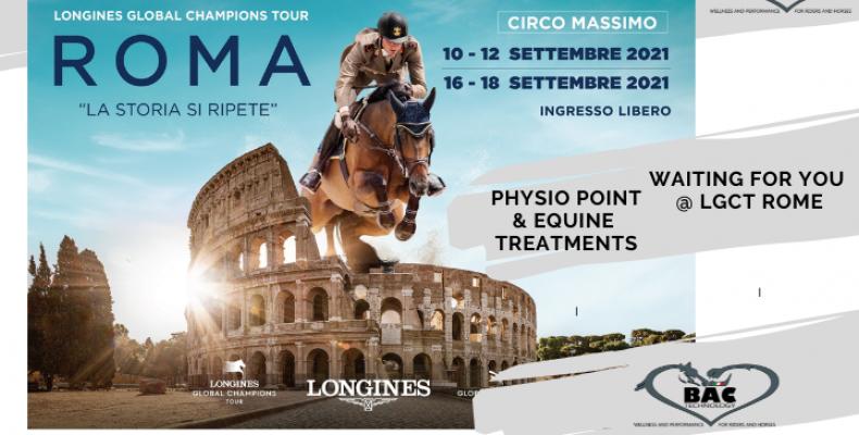 Al Global di Roma Physio Point e trattamenti per i cavalli BAC Technology